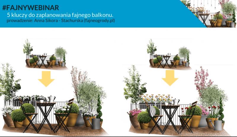 Fajny webinar: 5 kluczy do zaplanowania fajnego balkonu.